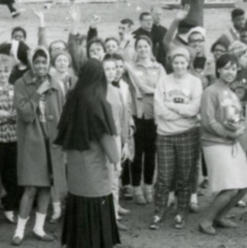 Students at Selma March