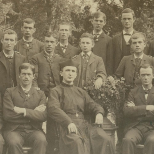 St. Mary's Debating Society Group Photo